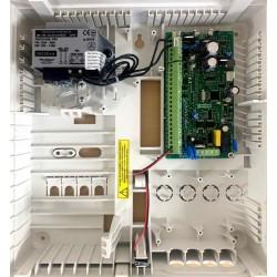 PAS808M Centrale D'alarme Filaire Anti-Intrusion Avec Transmetteur Tél RTC Intègre, Marque SECOLINK Certifiée Grade 2 Class 2