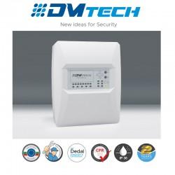 Centrale d'alarme de détection incendie 6 Zones 32 détecteurs par zone conventionnel , Marque Dmtech Certifié EN54-2/4