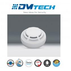 détecteur optique de fumée conventionnel Avec Verrouillage Lock, Certifié EN54-7 Marque Dmtech