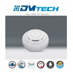 Détecteur thermo vélocimétrique conventionnel. Avec Verrouillage Lock, Certifié EN54-7 Marque Dmtech