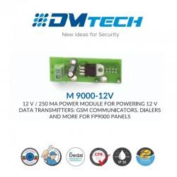 Module convertisseur 24V - 12V Pour pour connecter des accessoire avec la centrale incendie en 12v ,Marque Dmtech