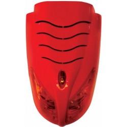 Sirène Incendie Conventionnelle extérieure avec lampe flash LED . Certifié EN54-3, Marque Dmtech