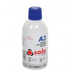 A3 Solo est un aérosol propre synthétique pour tester les détecteurs du fumé