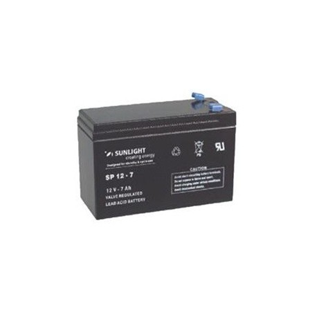 Batterie de secours sèche rechargeable 12 V 7 AH