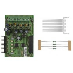 Module d'extension de 4 sorties de sirènes pour MAG8plus, Marque Teletek