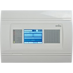 Centrale d'alarme incendie adressables avec LCD, Marque Teletek
