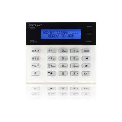 KM20B clavier avec écran LCD, adapté Pour la programmation systèmes SECOLINK Certifiée EN50131, Grade 2 , Class 2