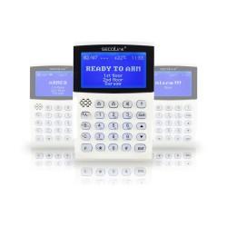 KM24A clavier avec écran LCD Graphiques, adapté Pour la programmation systèmes SECOLINK Certifiée EN50131, Grade 2 , Class 2
