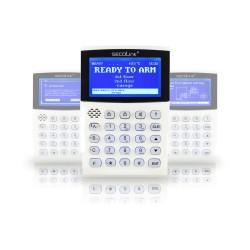 KM24G clavier avec guide vocal écran LCD Graphiques, Pour la programmation systèmes SECOLINK Certifiée, Grade 2 , Class 2