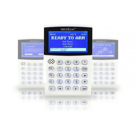 CLAVIER LCD GRAPHIQUES, MARQUE SECOLINK