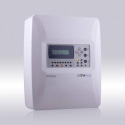 Centrale d'alarme incendie 4 Zones conventionnel avec afficheur LCD, Marque Dmtech