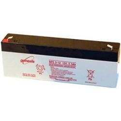 Batterie de secours sèche rechargeable 12 V 2,3 AH